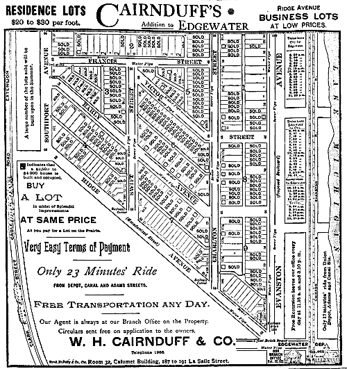 Cairnduff's Addition Map
