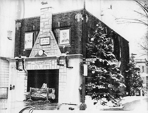 Firehouse Christmas 1959 (after)