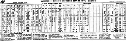 1949 From Schedule