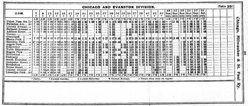1898 From Schedule